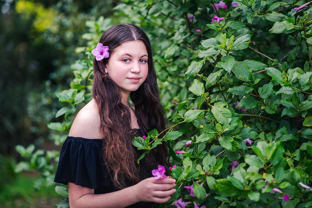 בוק בת מצווה בטבע | עמק חפר | אביבית צפריר צלמת