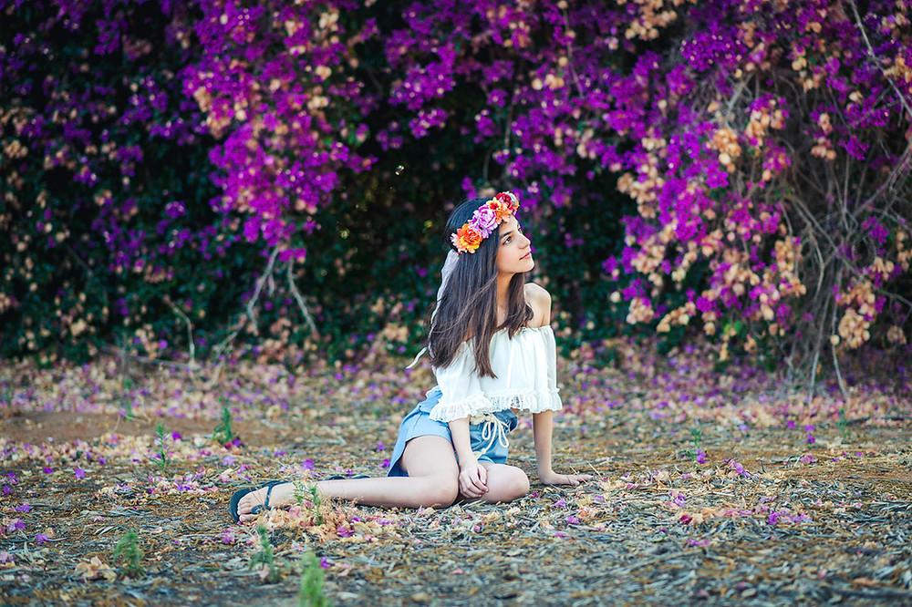 צילומי בת מצווה   אביבית צפריר   עמק חפר והסביבה