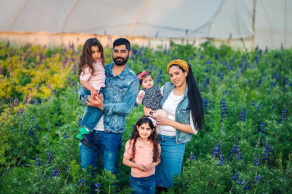 צילומי חלאקה |  צילומי משפחה בטבע
