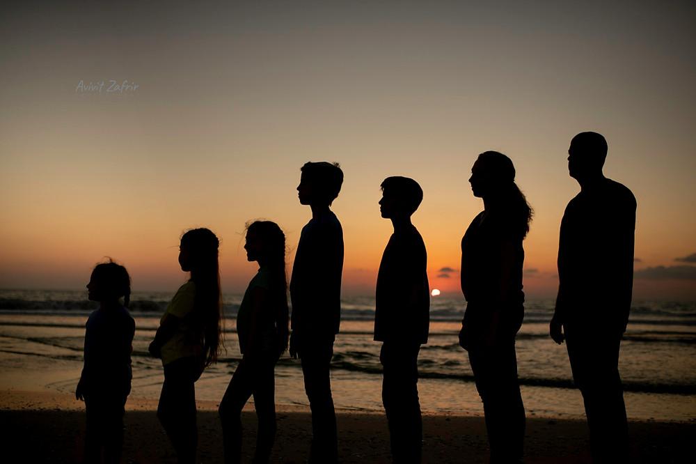 צילומי משפחה בים
