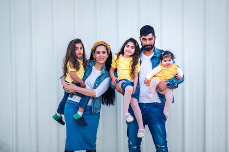 צילומי משפחה בעמק חפר