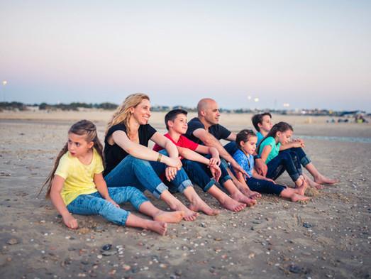 צילומי משפחה בים ובטבע