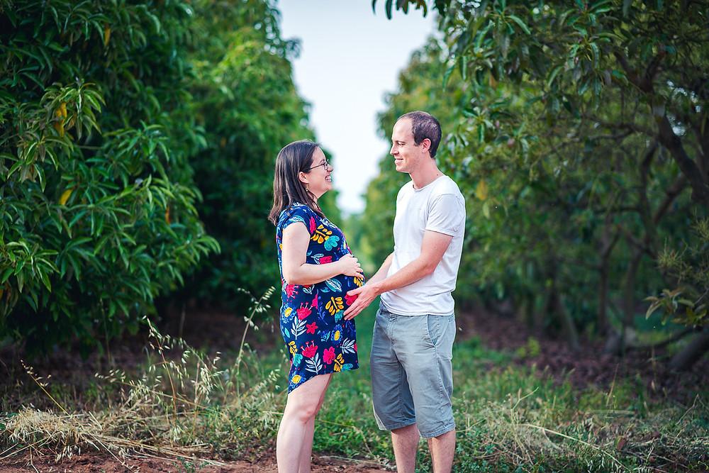 צילומי משפחה והיריון בטבע   עמק חפר , כפר יונה