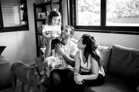צילומי משפחה בבית