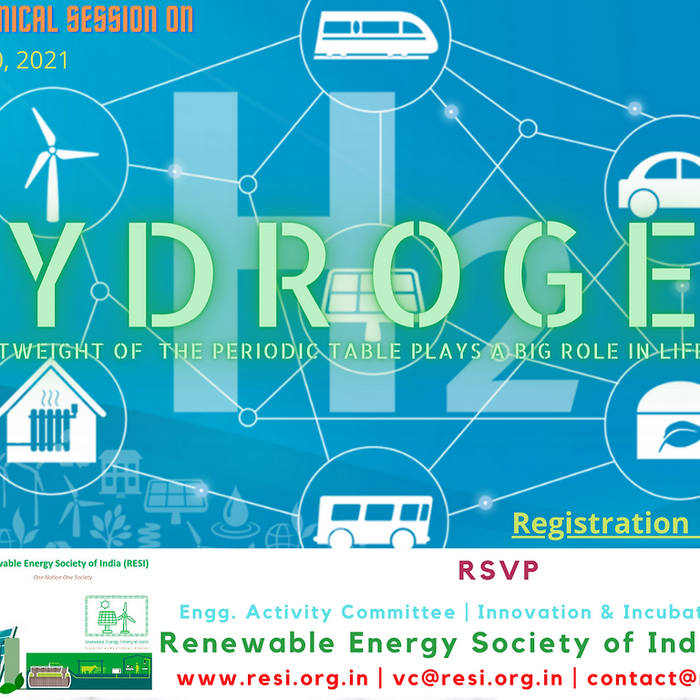 """Technical Session on """"Hydrogen: Lightweight of periodic table plays big role in life on Earth"""""""