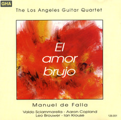 El Amor Brujo   Los Angeles Guitar Quartet   1987