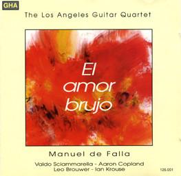 El Amor Brujo | Los Angeles Guitar Quartet | 1987