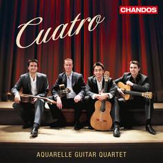 Cuatro   Aquarelle Guitar Quartet   2013