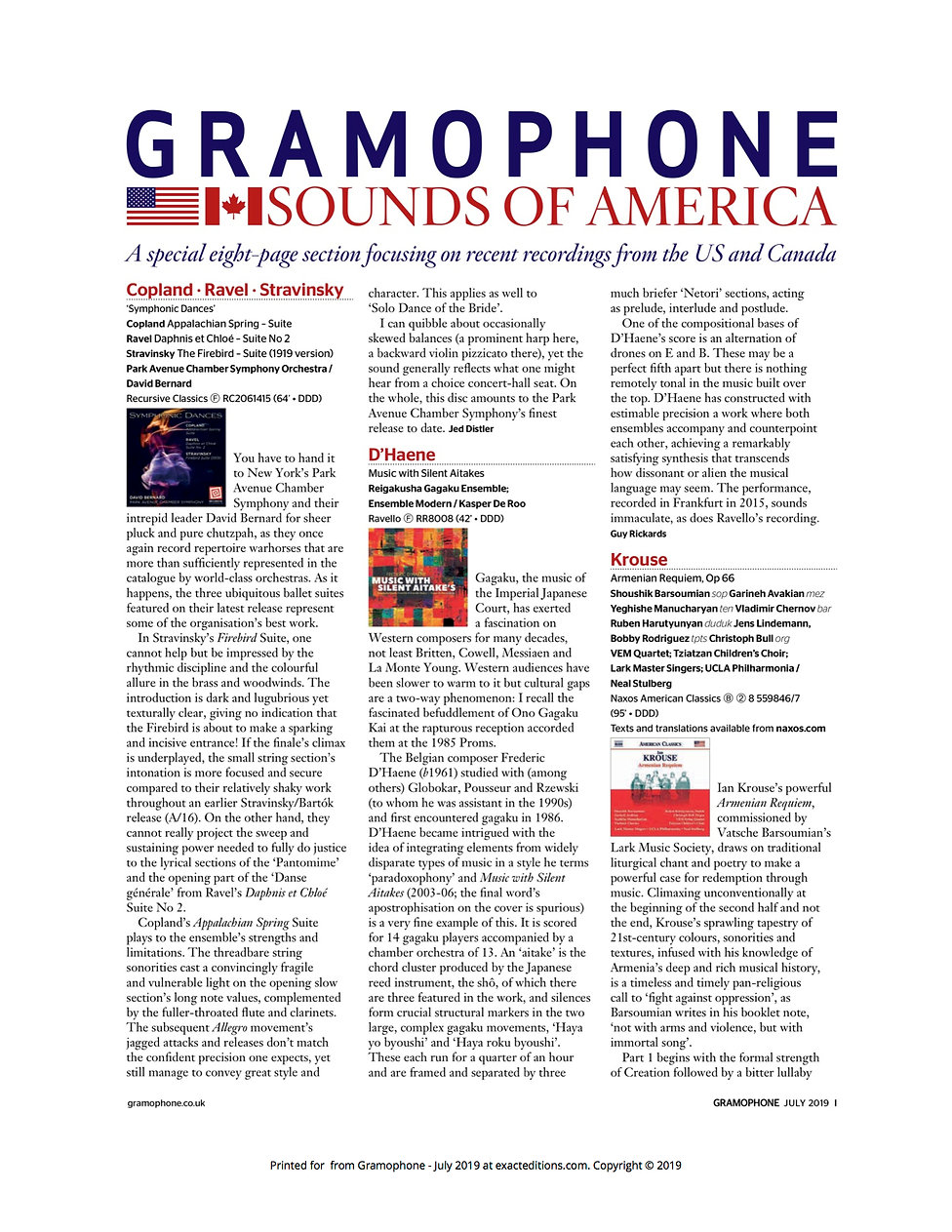 Gramophone review 6-20-19 page 1.jpg