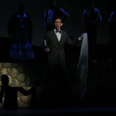 Evan Hughes, as Lorca in Lorca, Child of the Moon, 2005.