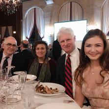Ian Krouse with Movses Pogossian, Varti Manoulian, and Jan Chen