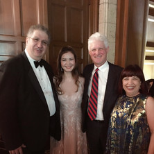 From left to right: Vatsche Barsoumian, Jan Chen, Ian Krouse, and Arpi Barsoumian