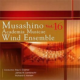Musashino Academia Musicae Wind Ensemble Vol. 16  |  2011