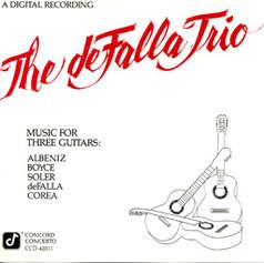 Music for Three Guitars   The deFalla Trio   1986