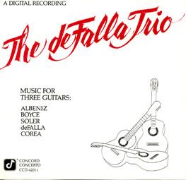 Music for Three Guitars | The deFalla Trio | 1986