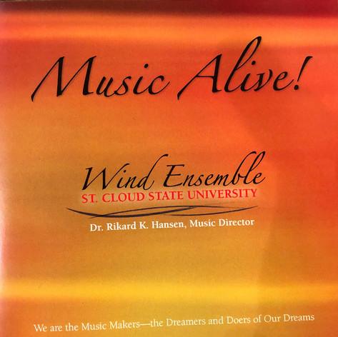 St Cloud State University Wind Ensemble | Music Alive!