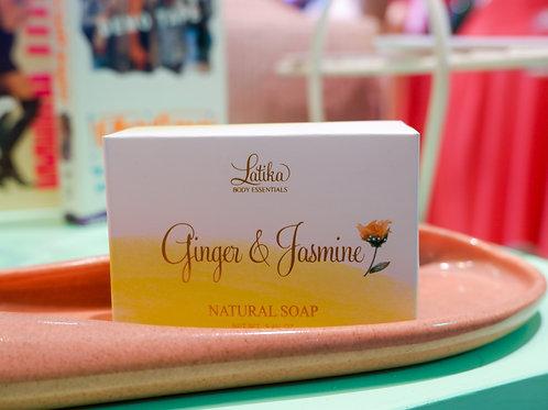 Latika Ginger & Jasmine Natural Soap