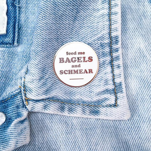 Bagels & Schmear Pin
