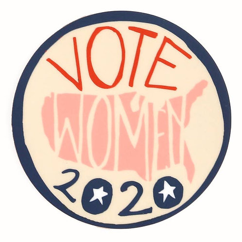 Votes for Woman Sticker
