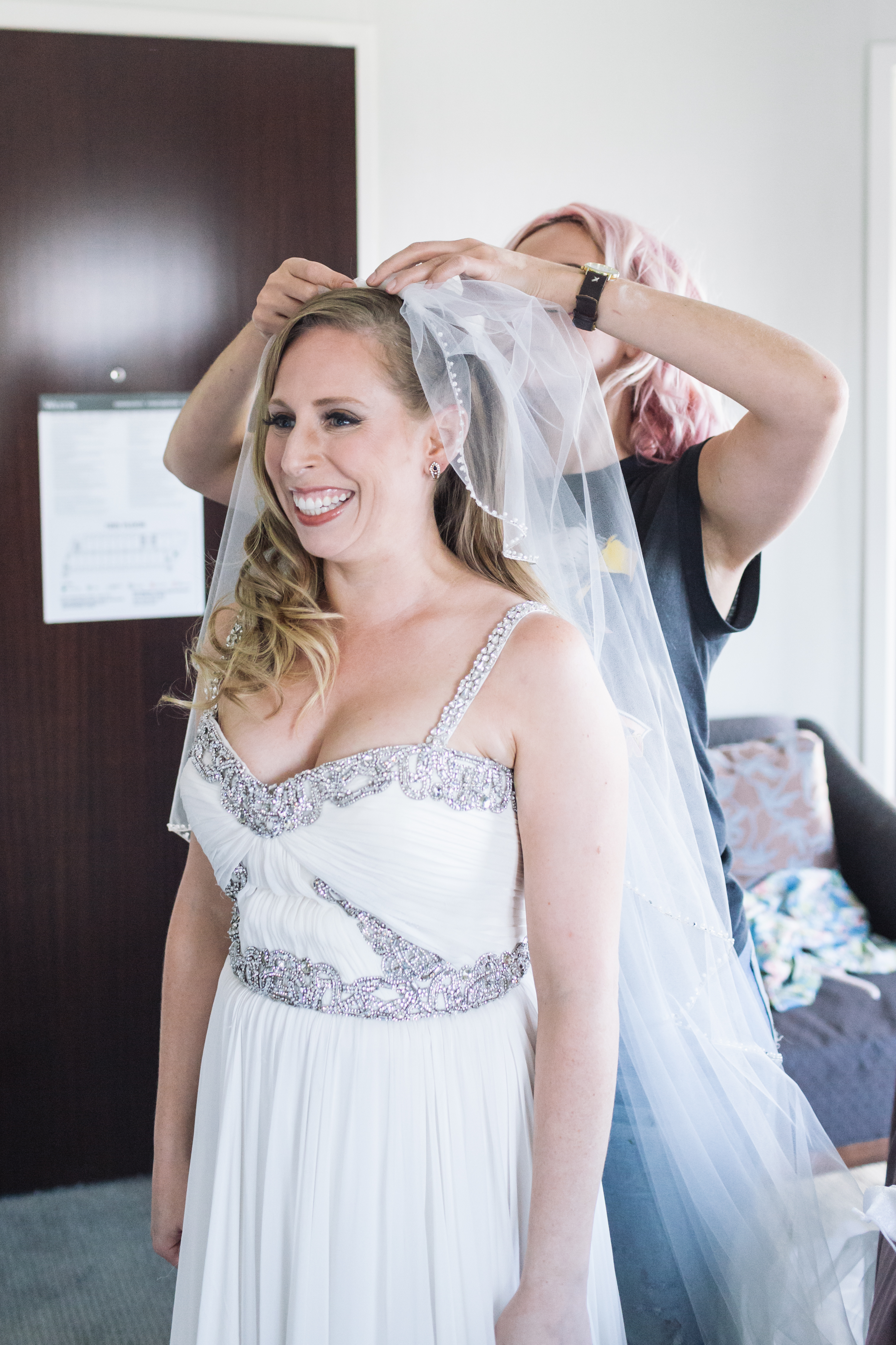 Lisa & Tom's Jersey City Wedding