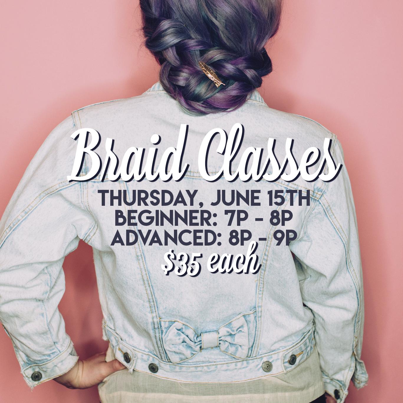 Braid Classes