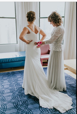 Sara and Mother of the Bride