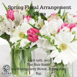 Spring Floral Design Class