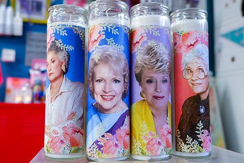 Golden Girls Saint Candles