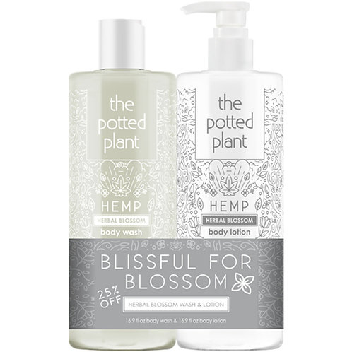 The Potted Plant Blissful In Blossom Duo