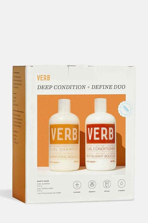 Verb Deep Condition + Define Duo