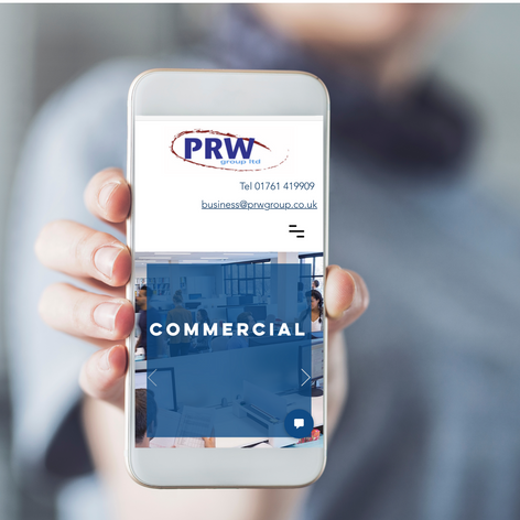 PRW Group Mobile Friendly Website