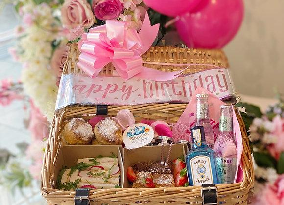 Gin Birthday Hamper Pink