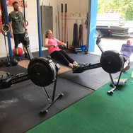 Rowing session
