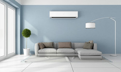 Aircon unit in lounge