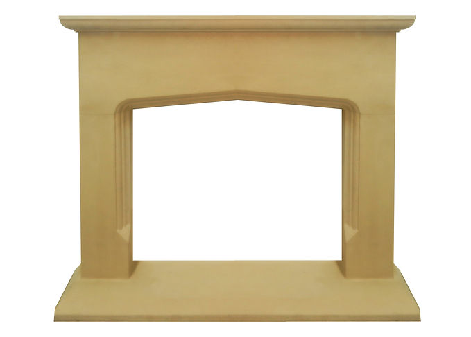 Hand carved Mells fireplace