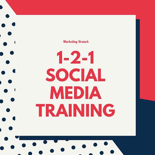 Social Media 1-2-1 Training Power Hour