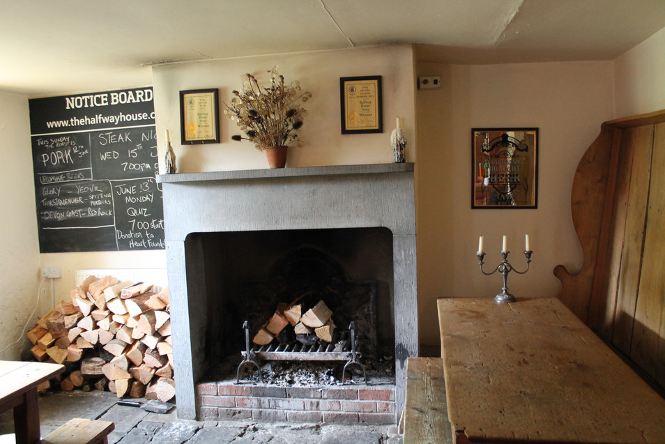 The Halfway House Fire Place