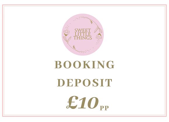 Booking Deposit