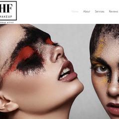 HF Makeup Website