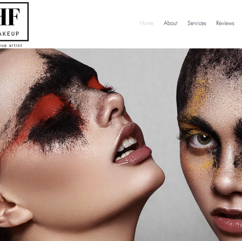 HF Makeup Website