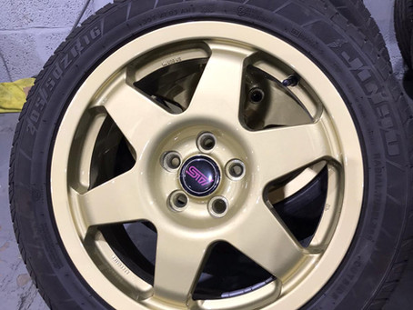 What Is Alloy Wheel Powder Coating?