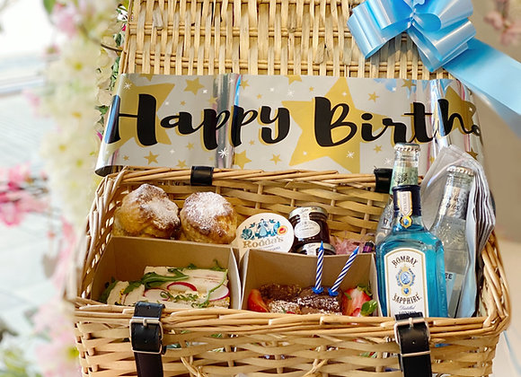 Gin Birthday Hamper Blue