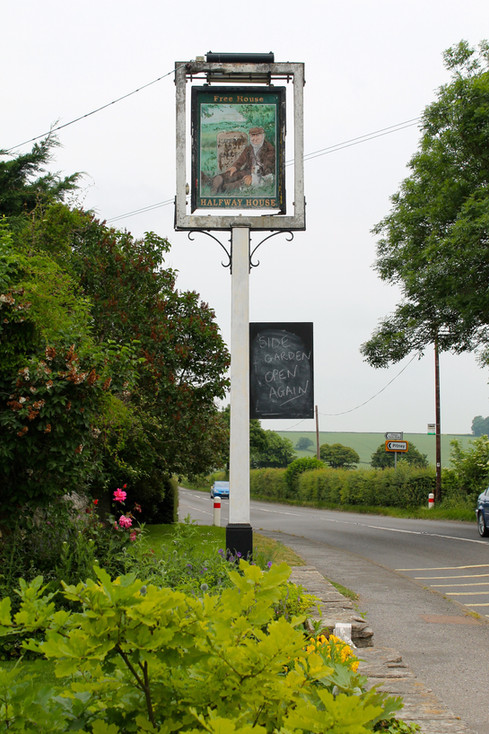 Halfway House Sign