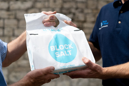 Block Salt for Water Softeners x 10 packs