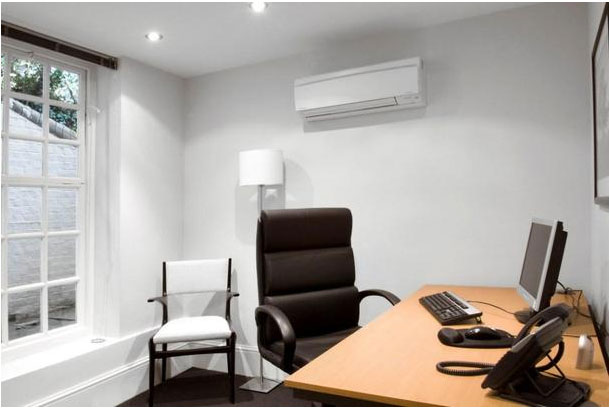 Single Air Conditioning In Office