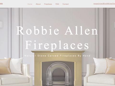 R Allen Fireplaces Website