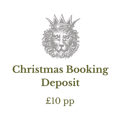 Christmas Booking Deposit Per Person
