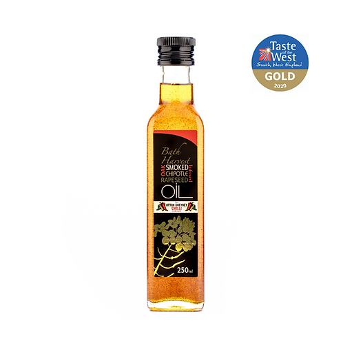 Bath Harvest Oak Smoked Chipotle Infused Oil