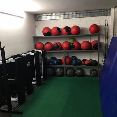 Equipment corner