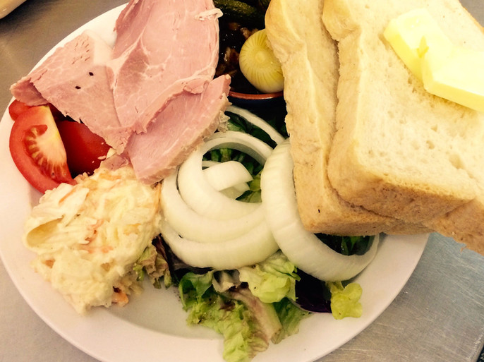 The Halfway House Ploughmans Lunch